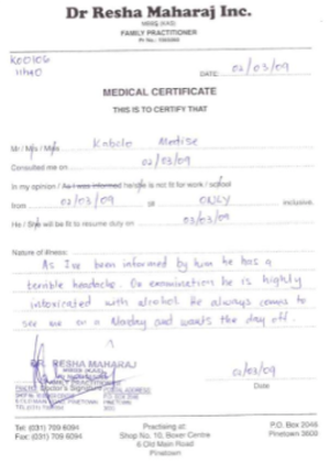 how to get a fake doctors note